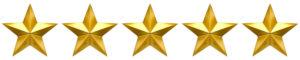 Five star golden review